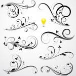 Creative Abstract Conceptual Design Art of Swirls ...