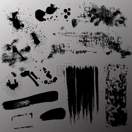 Grunge Stains Vectors