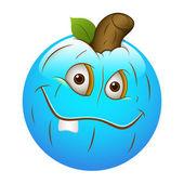 Smiley Emoticons Face Vector - Pumpkin