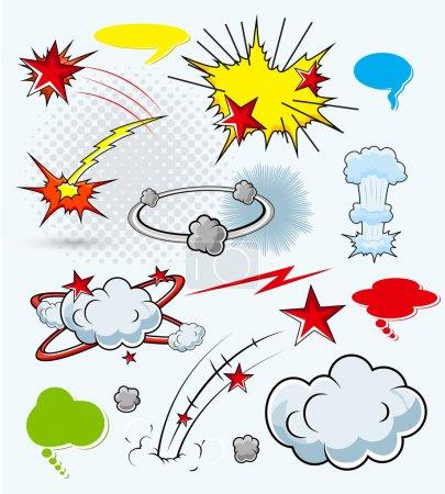explosions comiques