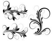 Creative Abstract Conceptual Design Art of Swirls Vectors