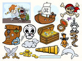 Pirates Vector - Elements Collection