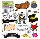 Pirate Cartoons Vector