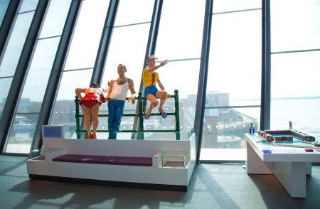 Liverpool Museum of Liverpool display