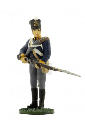 Musketeer 11th (2nd Silesian) line infantry regiment of the Prussian Army, 1815