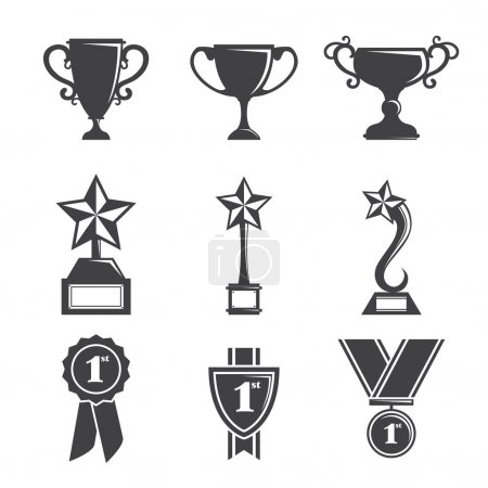 Trophy icons
