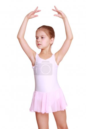 Lovely young ballerina