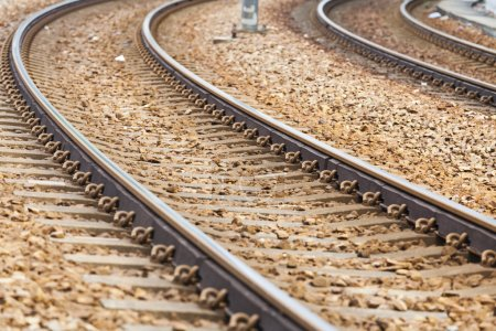 Railway for train