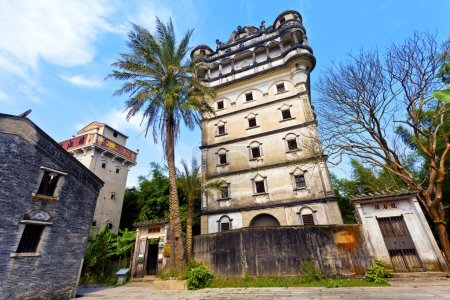 Kaiping Diaolou in China, Unesco world heritage site.