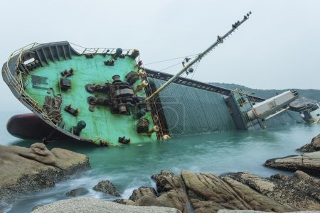Big shipwreck
