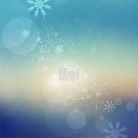 Christmas abstract background card