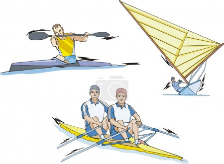 Rowing, Canoeing and Sailing