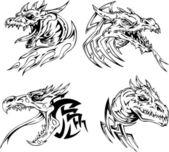 Dračí Hlava tetování