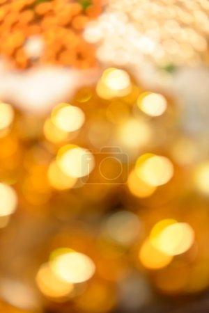 Foto de Blurred oro Navidad brillante fondo - Imagen libre de derechos