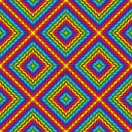 Photo pour Texture transparente avec texture illusion optique en vives et lumineuses couleurs dans la gamme de couleur - image libre de droit