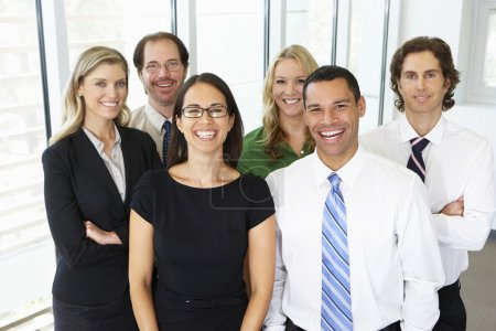 Portrait Of Business Team In Office