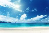 """Постер, картина, фотообои """"пляж острова Маэ, Сейшельские острова"""""""