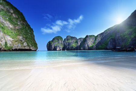 Photo for Morning time at Maya bay, Phi Phi Leh island,Thailand - Royalty Free Image