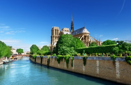 Photo for Notre Dame Paris, France - Royalty Free Image