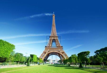 Eiffel tower, Paris. France.