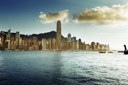Photo for Skyline of Hong Kong - Royalty Free Image