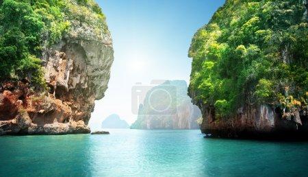 Photo pour Paysage fabuleux de la Thaïlande - image libre de droit
