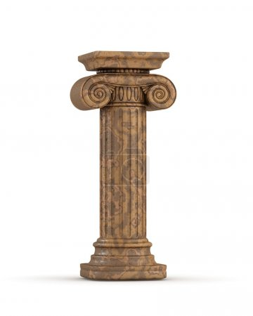 Photo for Classic Marble Column - Royalty Free Image