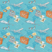 Travel seamless repeating pattern