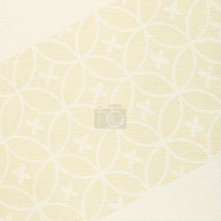 texture d'arrière-plan floral de papier beige