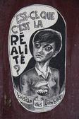 Paříž graffiti