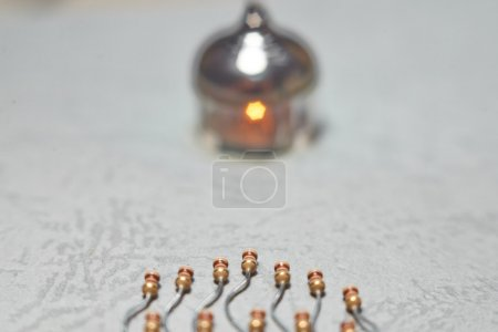 Photo for Resistors as a spermatophyte - Royalty Free Image