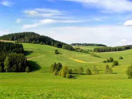 Hills of Muehlviertel, part of Upper Austria