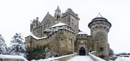 Castle Kreuzenstein in Lower Austria