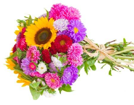 Autumn flowers bouquet