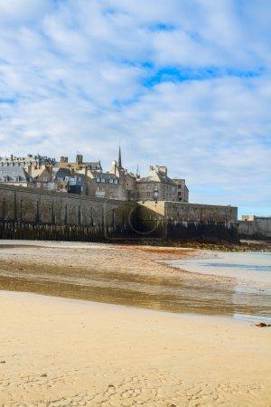 Saint-Malo City Wall , Brittany, France