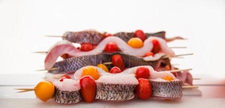 BBQ fresh Baikal whitefish