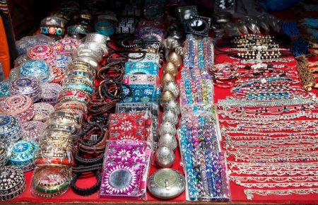 Souvenirs at Goa market