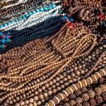 Prayer mala in the shop at Durbar square in Kathma...