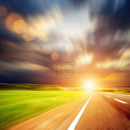 Foto de A lo largo de la carretera - Imagen libre de derechos