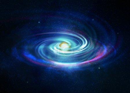 Photo pour La théorie du big bang et l'origine de tout - image libre de droit