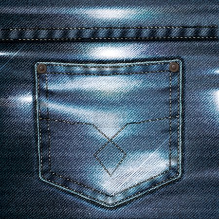 Jeans Vector Background Set 4