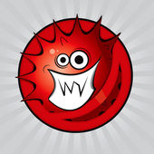Virus 1 vector drawing