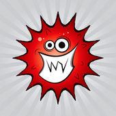 Virus 3 vector drawing