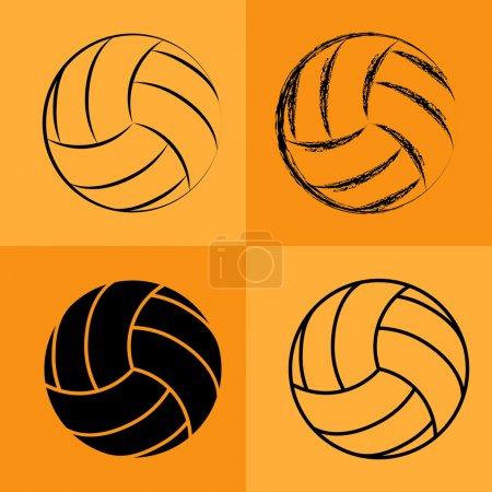 Volleyball Ball Set 2