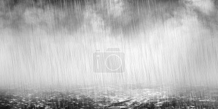 Photo pour Contexte météorologique - image libre de droit