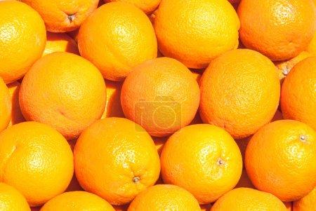Photo pour Beaucoup d'orange crue fraîche - image libre de droit