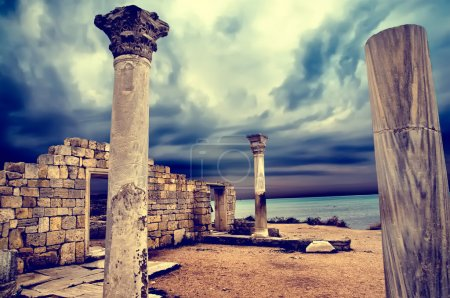 Photo for Ruins of the ancient Greek city - Royalty Free Image