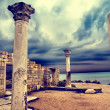 Ruins of the ancient Greek city...
