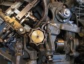 détail de machine ancienne usine