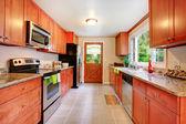 Velká kuchyň pokoj v contryside domě